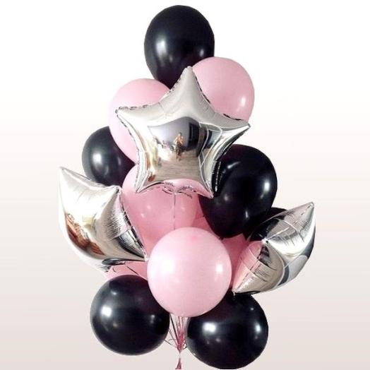 Набор «черно-розовый»