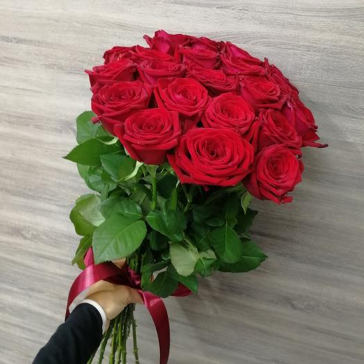 "✅ 21 Красная роза ""Королева"""