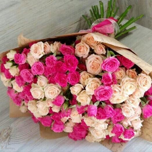 Роза кустовая 35