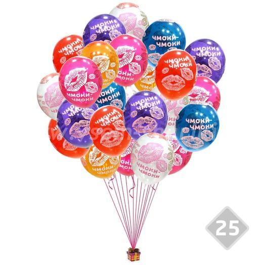 """25 helium balloons """"Smack-Smack"""""""