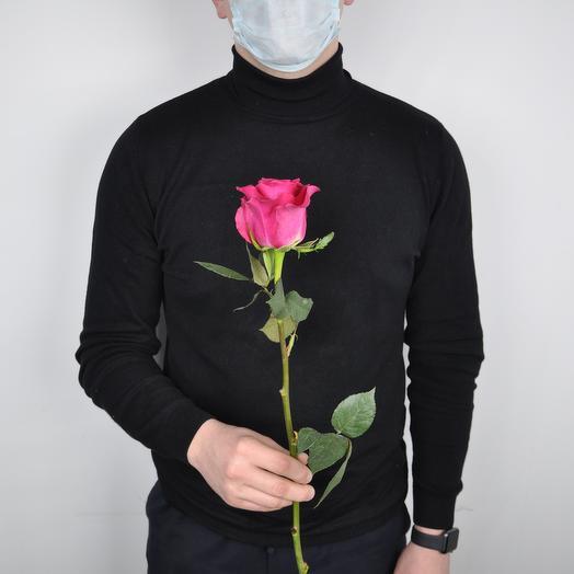 Роза премиум 60 см