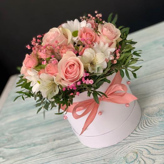 Цветы в коробке Гармонич