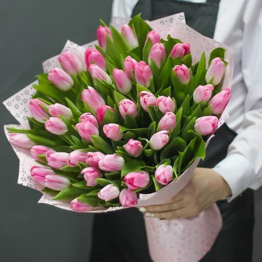 51 нежный тюльпан