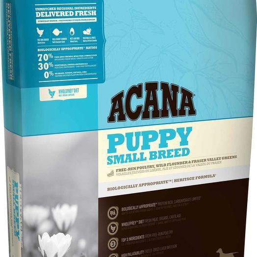 Acana Puppy Small Breed сухой корм для щенков мелких пород 2 кг