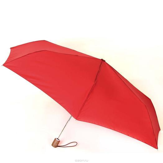 Зонт женский Planet с защитой от УФ лучей красный