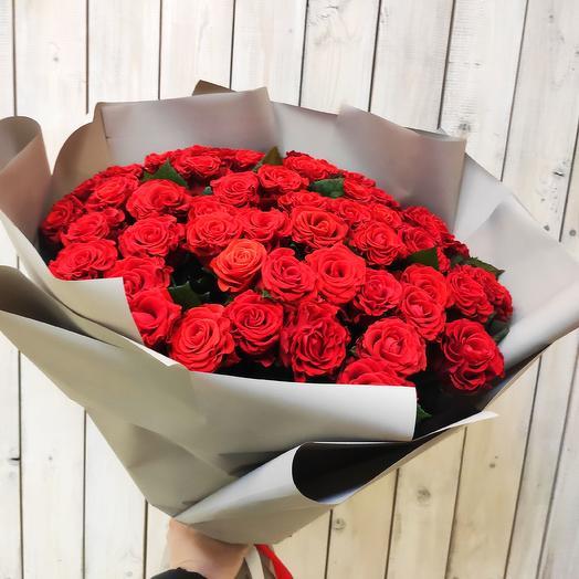 Букет из 25 красных роз Эль Торро