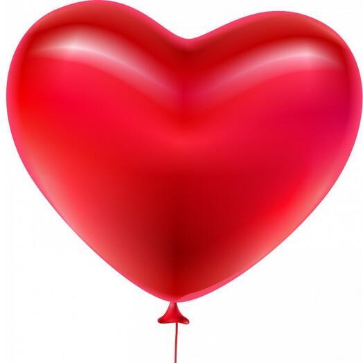 Шар латексный Сердце