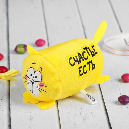 Мягкая игрушка Котэ «Счастье есть»