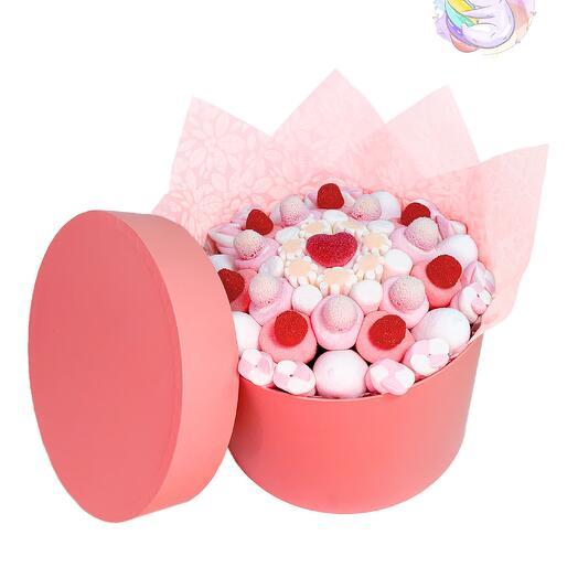 Букет «Розовый мрамор»