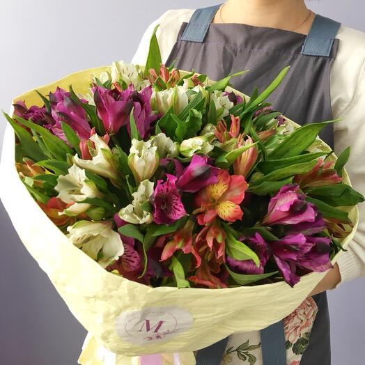 Bouquet of Alstrmeria