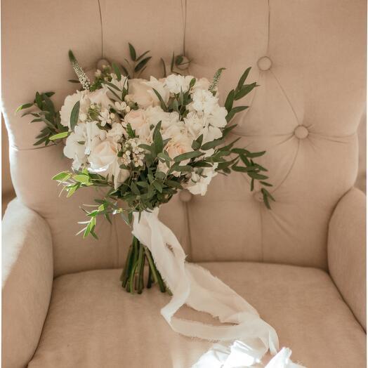 Букет невесты «Белое облако»