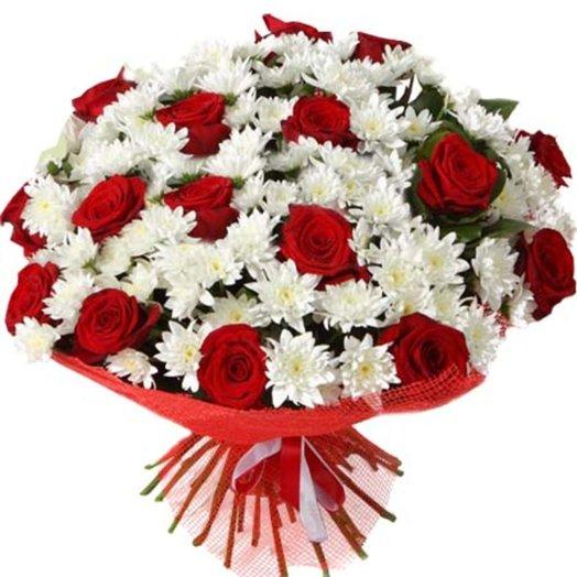 Букет Классический микс: букеты цветов на заказ Flowwow