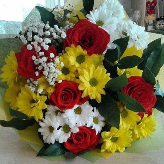 С Душой: букеты цветов на заказ Flowwow