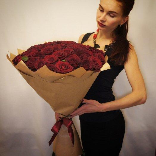 Red Леди: букеты цветов на заказ Flowwow