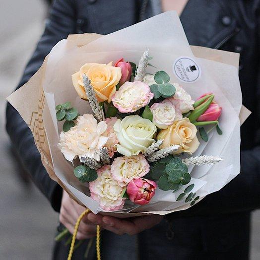 Нежный Гарри: букеты цветов на заказ Flowwow