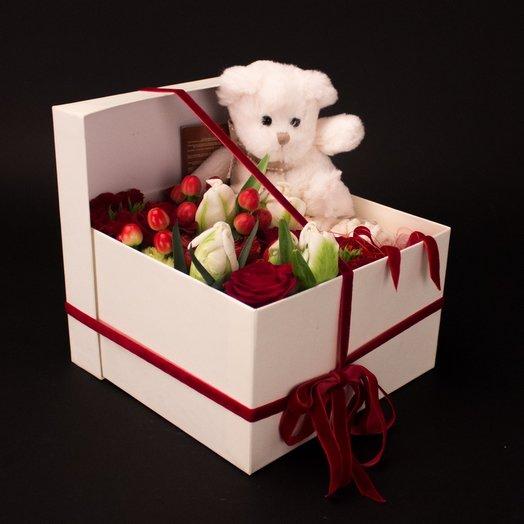 Контрастное настроение: букеты цветов на заказ Flowwow