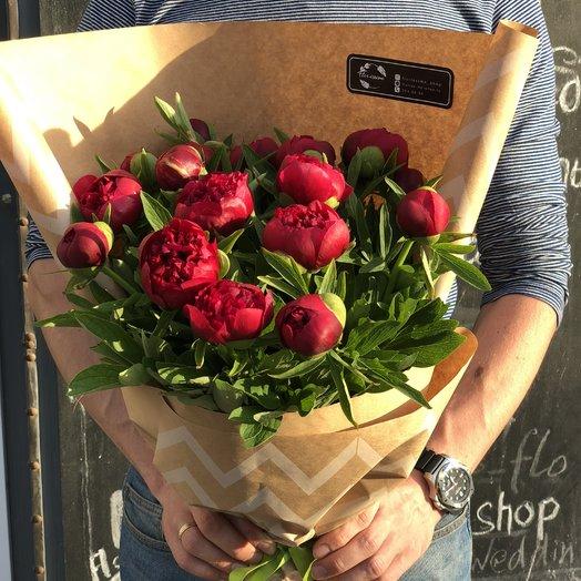 "Букет ""Бордо"": букеты цветов на заказ Flowwow"