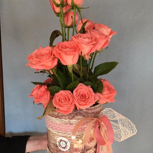 Композиция «Искушение»: букеты цветов на заказ Flowwow