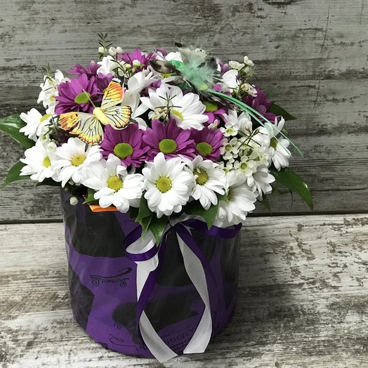 Летнее поле: букеты цветов на заказ Flowwow