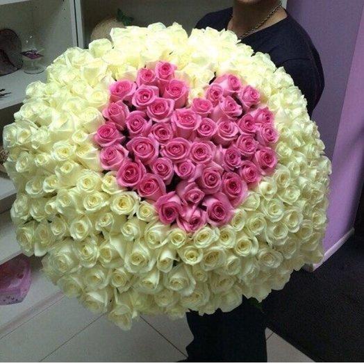 Розовый поцелуй: букеты цветов на заказ Flowwow