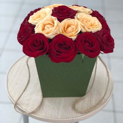 """Букет роз эквадор """"Цветочный рай"""""""