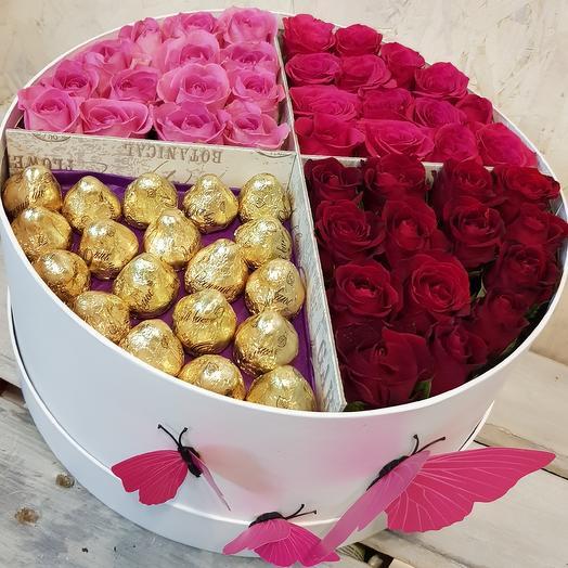 Самая стильная, вкусная и популярная: букеты цветов на заказ Flowwow