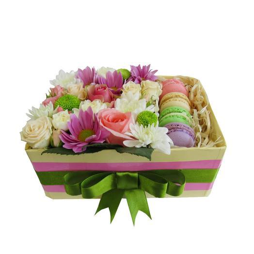 """КОМПОЗИЦИЯ """"ТАЙНОЕ ПОСЛАНИЕ"""": букеты цветов на заказ Flowwow"""
