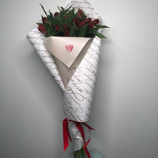 """""""Красная стрела"""": букеты цветов на заказ Flowwow"""