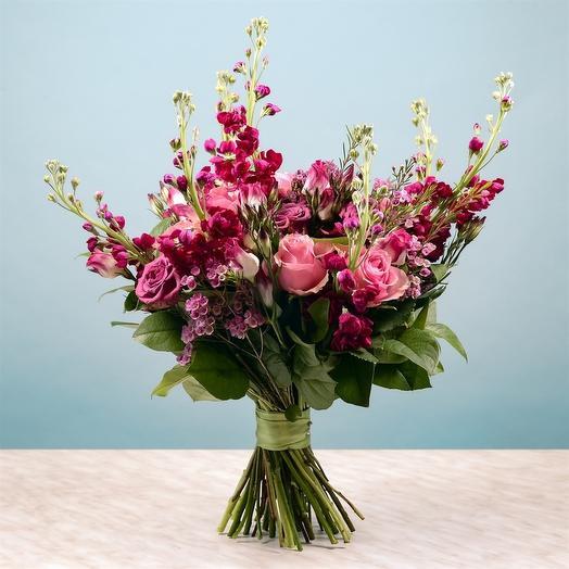 Унесенные счастьем: букеты цветов на заказ Flowwow