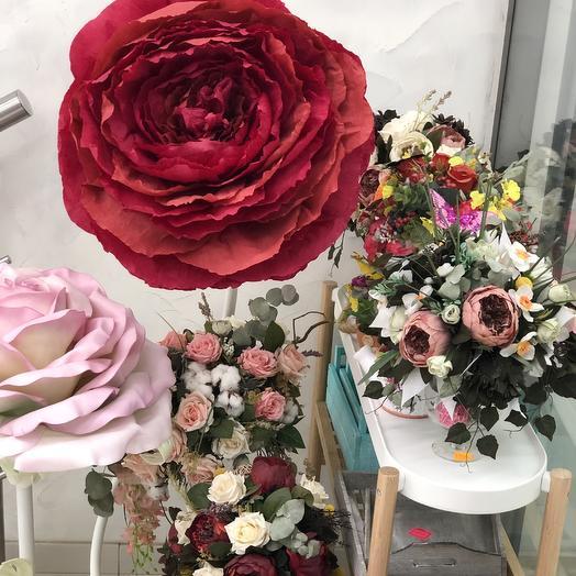Искусственные цветы: букеты цветов на заказ Flowwow