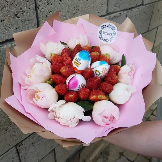 Пионовое чудо: букеты цветов на заказ Flowwow