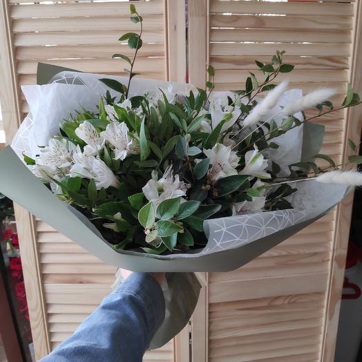 Белый снег: букеты цветов на заказ Flowwow