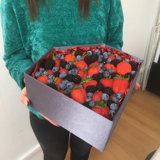 Коробка « Бриллиантовый экстаз»: букеты цветов на заказ Flowwow