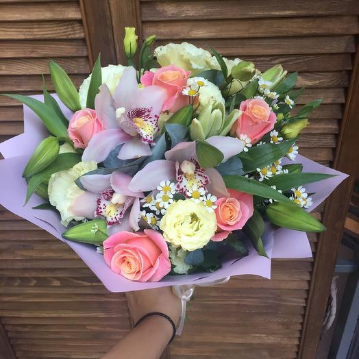 Арфа: букеты цветов на заказ Flowwow