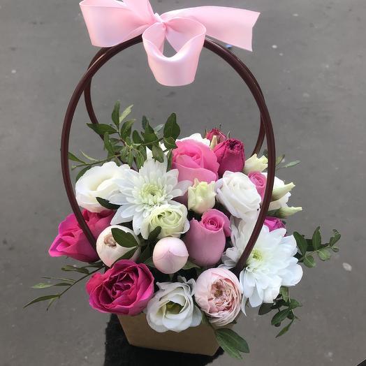 Прекрасная сумочка 💕: букеты цветов на заказ Flowwow
