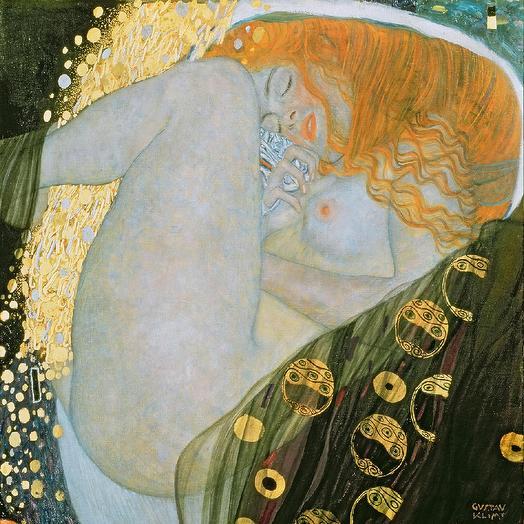 Картина Климта (репродукция с накатом на магнитном слое: букеты цветов на заказ Flowwow