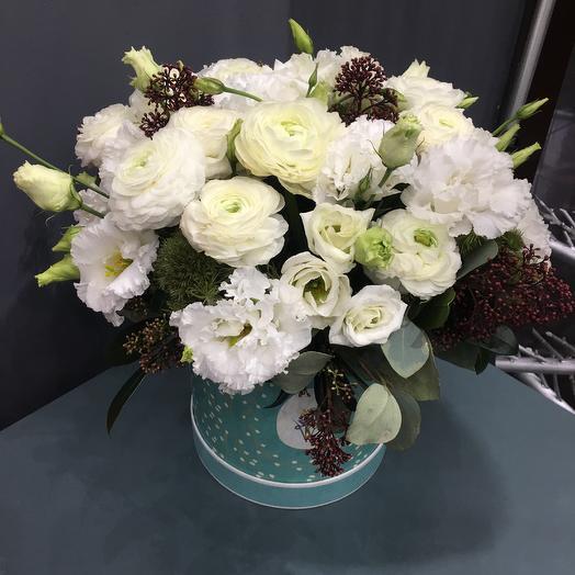 Снежная королева: букеты цветов на заказ Flowwow