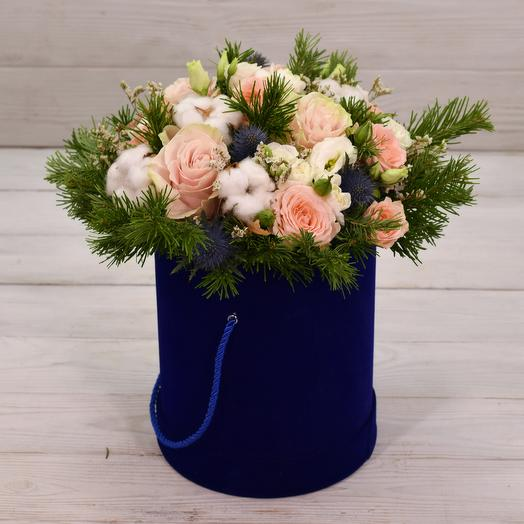 Зимняя ночь: букеты цветов на заказ Flowwow
