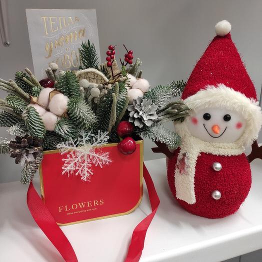Зимний уют: букеты цветов на заказ Flowwow