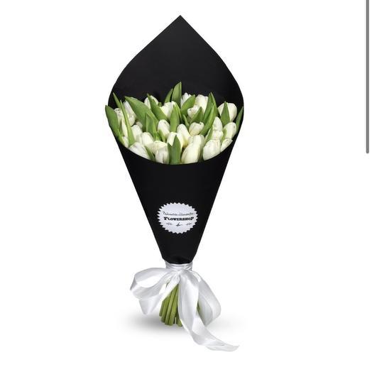 Black and white: букеты цветов на заказ Flowwow