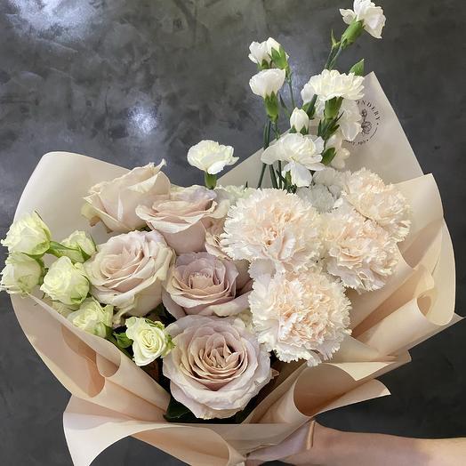 Букет «Peach»: букеты цветов на заказ Flowwow