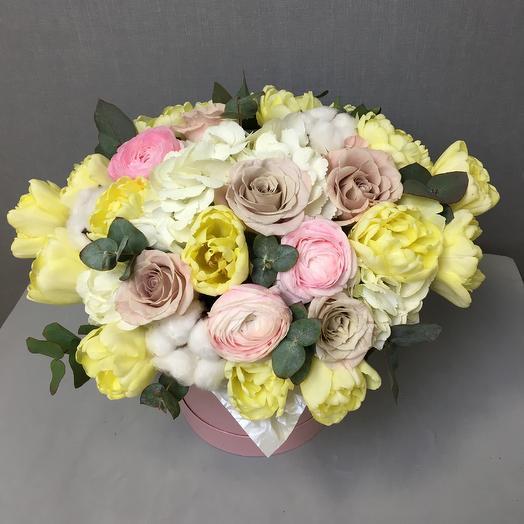 Весенний блюз: букеты цветов на заказ Flowwow