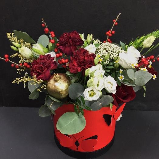 Ред бокс: букеты цветов на заказ Flowwow