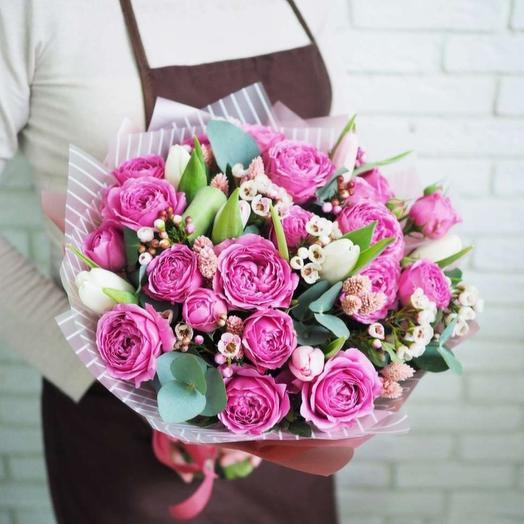 """Букет """"Анабель"""": букеты цветов на заказ Flowwow"""