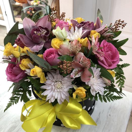 Стильный микс: букеты цветов на заказ Flowwow