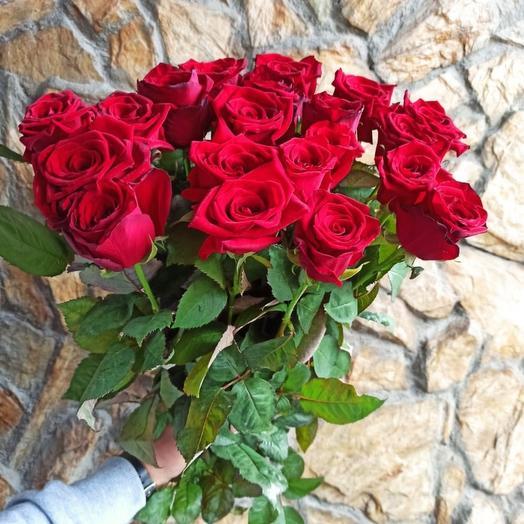 Роза Россия 50 см: букеты цветов на заказ Flowwow