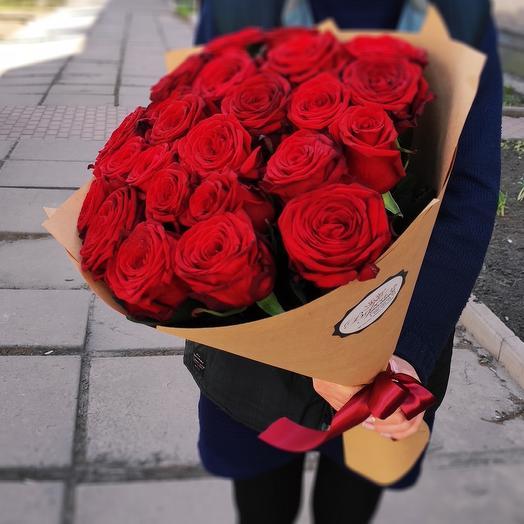 25 роз (красные)