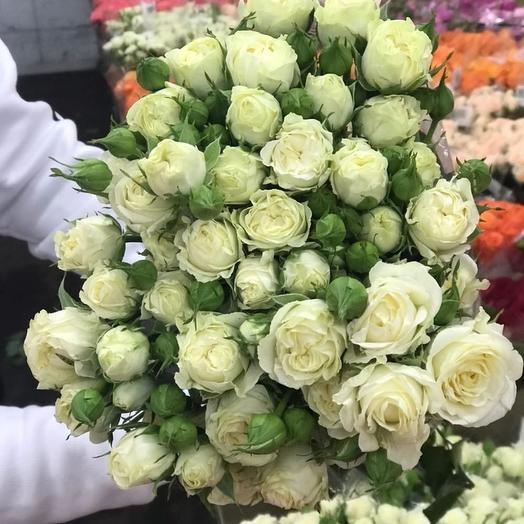 Розы кустовые: букеты цветов на заказ Flowwow