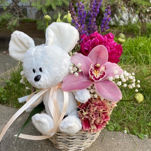 Нежность с Мышкой: букеты цветов на заказ Flowwow