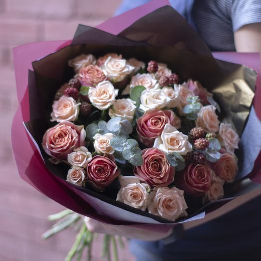 Букет Wild Rose 02